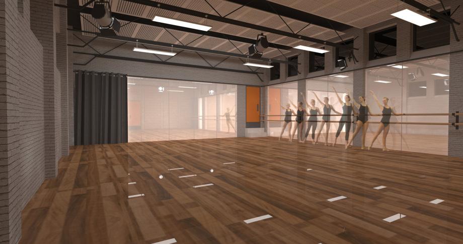 Sense Of Space Architects Dance Studio
